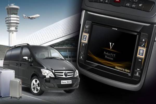 ALPINE X800D-V Mercedes Benz Vito Viano W639