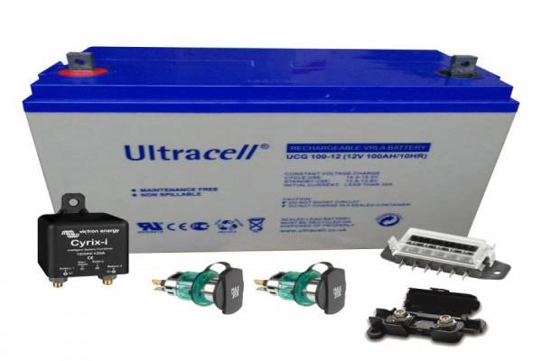 Instalación segunda batería 100Ah AGM Relé automático