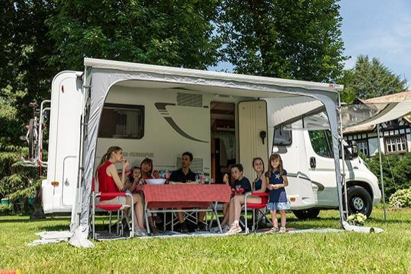 Privacy Room Ultra Light FIAMMA 260 Van