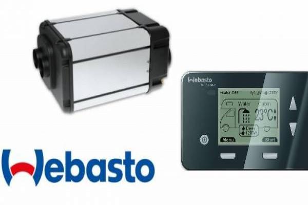 Calefacción Webasto DUAL TOP EVO 6 Mando Digital