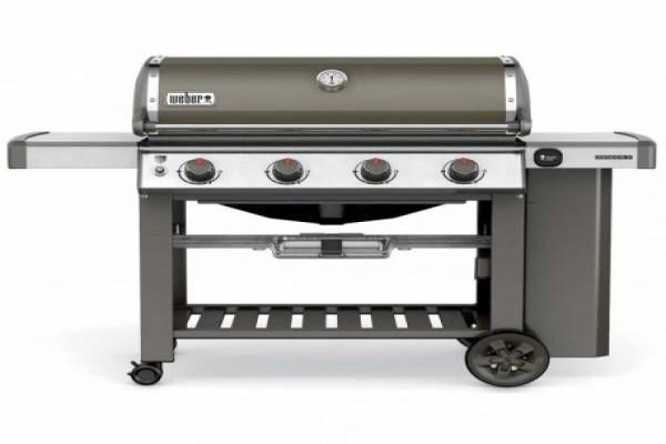 Barbacoa WEBER Genesis II E-410 GBS Smoke Grey