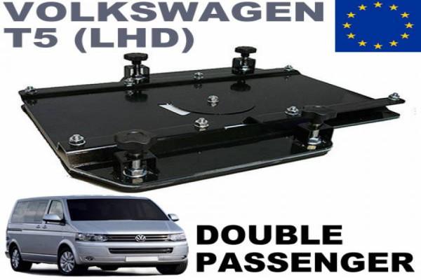 Base giratoria VW T5 T6 copiloto DOBLE