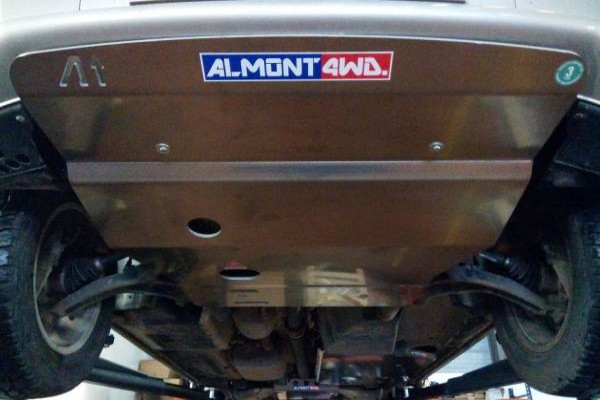 Protección ALMONT4WD frontal T5/T6 8mm