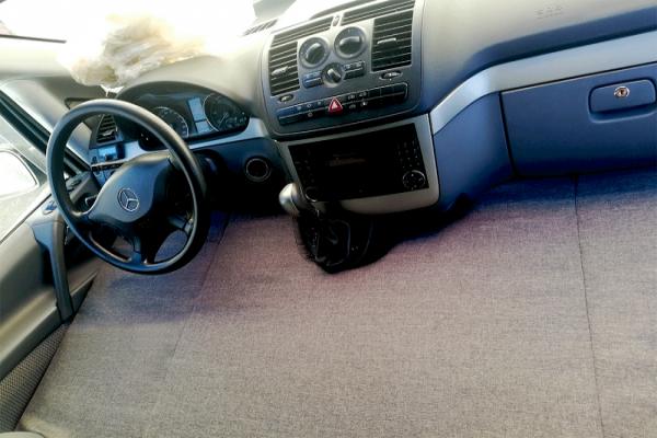 Cama delantera Mercedes 639 2003-2014