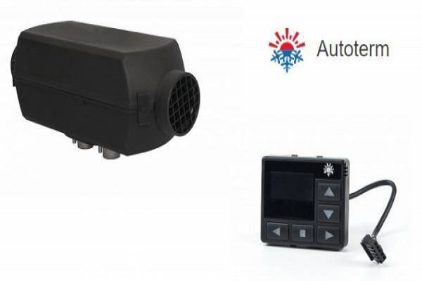 Chauffage stationnaire PLANAR 4D 12v 4kW avec programmateur digital et kit d'altitude automatique