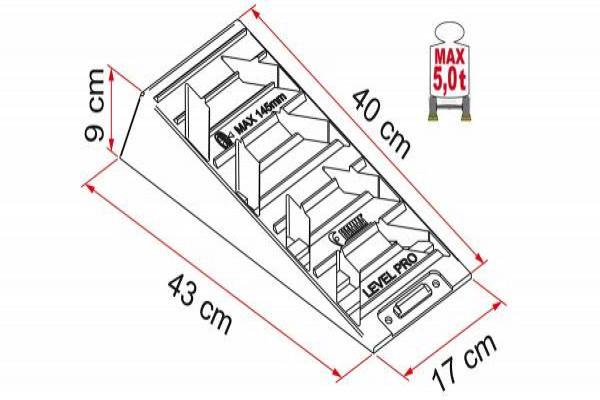 Niveladores FIAMMA Level System Pro