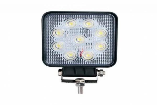 Llum de treball quadrada de 9 LED 10V-30V 2025lm