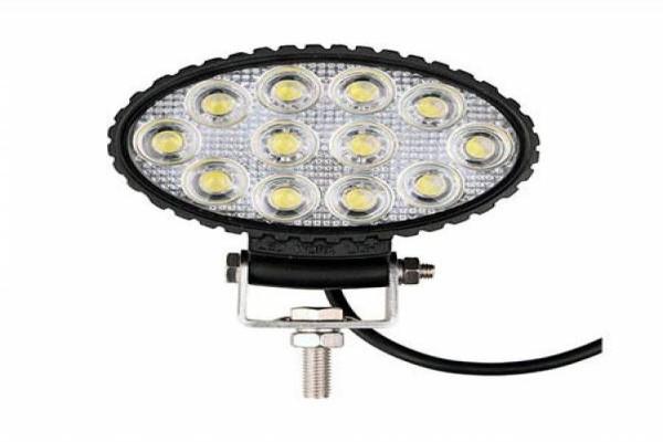 Llum de treball ovalada de 12 LED 10V-30V 2400lm