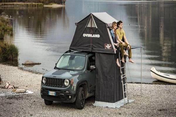 Changing Room Overland Coche