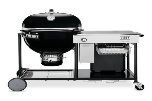 Barbacoa WEBER Summit  Charcoal Grilling Center Black