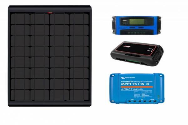 Kit solar NDS BLACK SOLAR Monocristalí 155W regulador a elegir