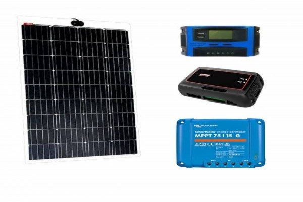 Kit solar semiflexible NDS Light Solar 105w regulador a elegir
