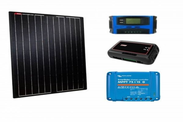 Kit solar semiflexible NDS Light Solar Black 180w regulador a elegir