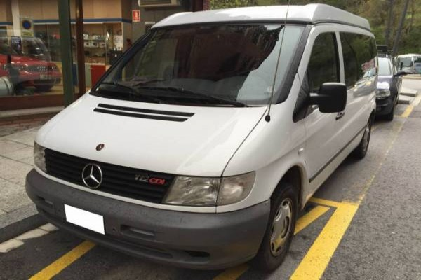Sostre elevable REIMO Mercedes Vito 638