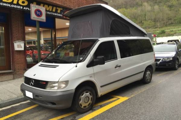 Techo elevable REIMO Mercedes Vito 638