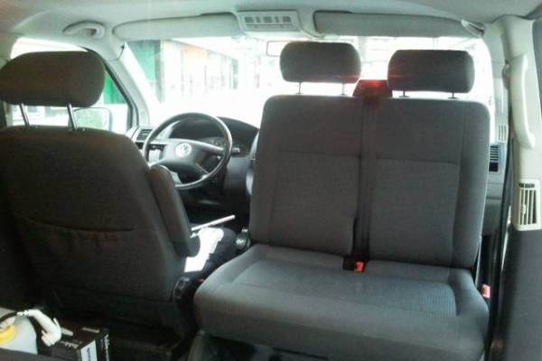 Base giratoria T5 ASIENTO DOBLE COPILOTO
