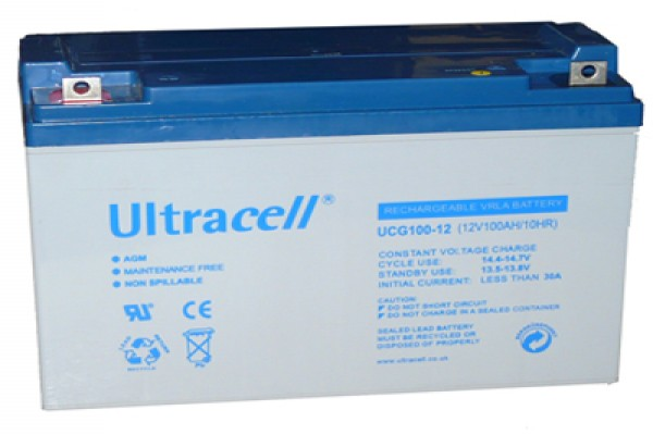 Bateria AGM Ultracell 100ah