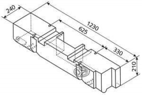 Dipòsit específic VWT4 53L