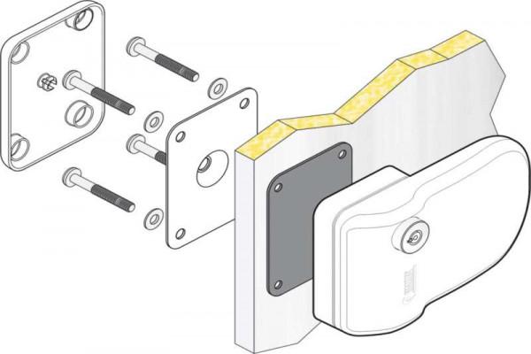 Safe door FIAMMA 3 piezas