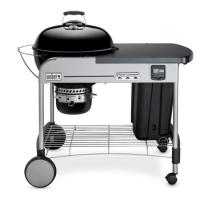Barbecue WEBER Performer Premium GBS - 57 cm - (Black)